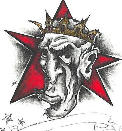 Crown Drawing - Broken Crown by Heather Kent