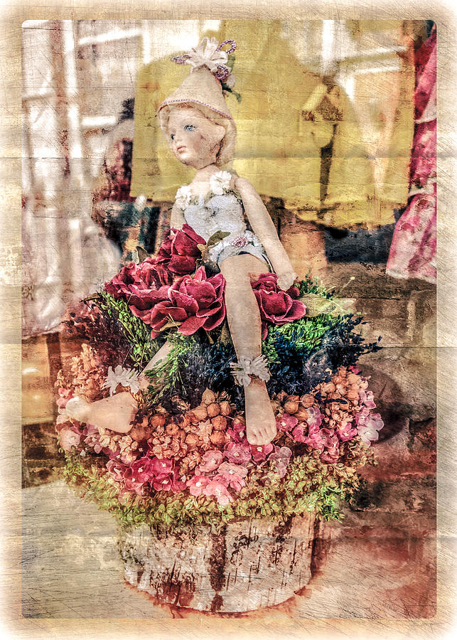 Broken Doll in the Window by Melinda Ledsome