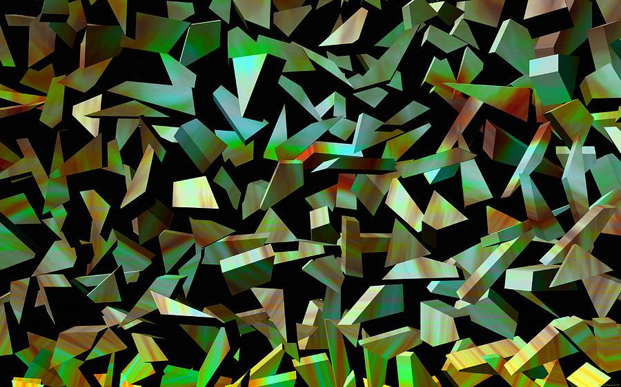 Shards Digital Art - Broken Dreams by Evelyn Patrick