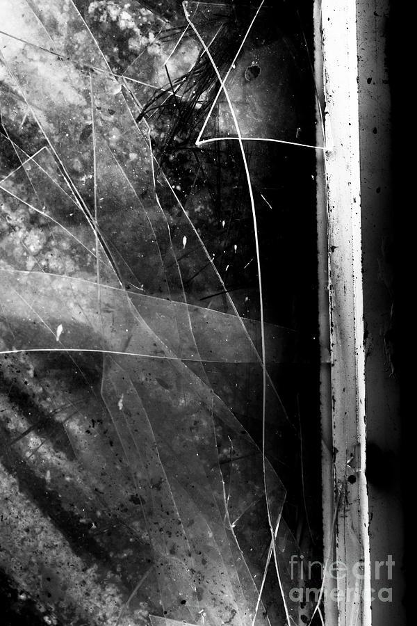 Broken Photograph - Broken Glass Window by Jorgo Photography - Wall Art Gallery