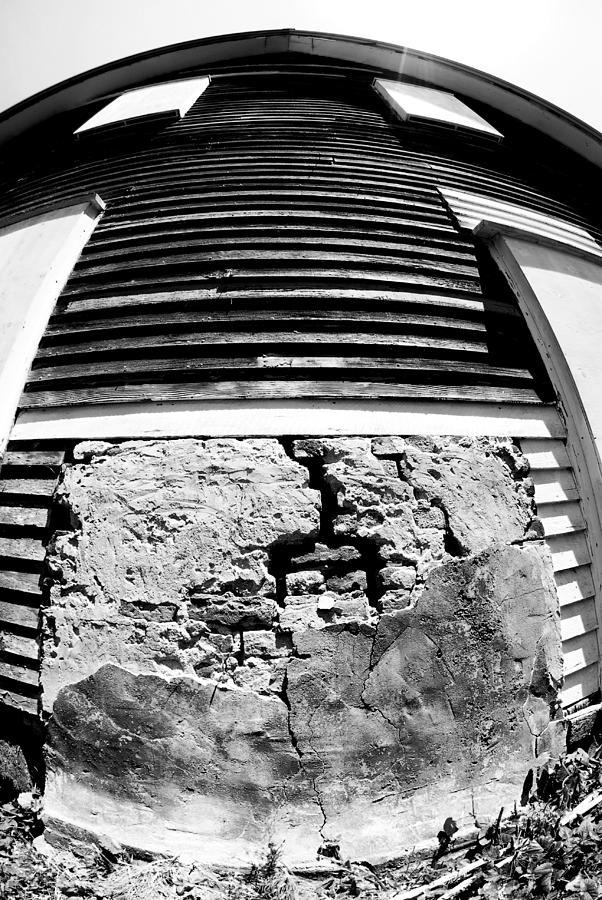 Bricks Photograph - Broken Home by Tom Melo