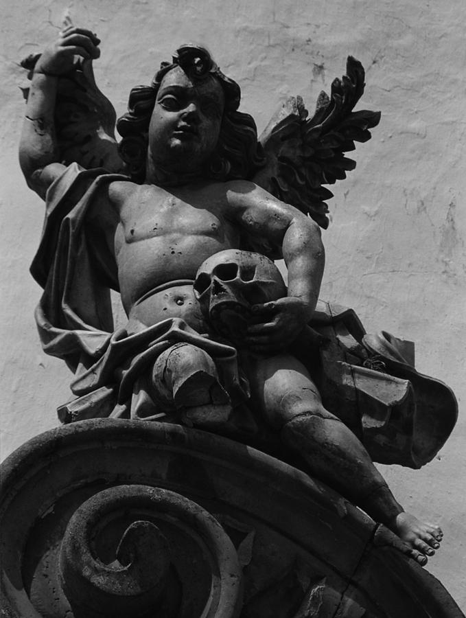 Angel Photograph - Broken Leg by Amarildo Correa