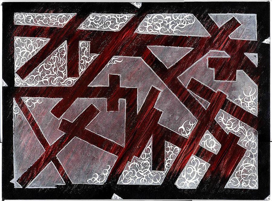 Broken Skin Painting by Nathaniel Hoffman