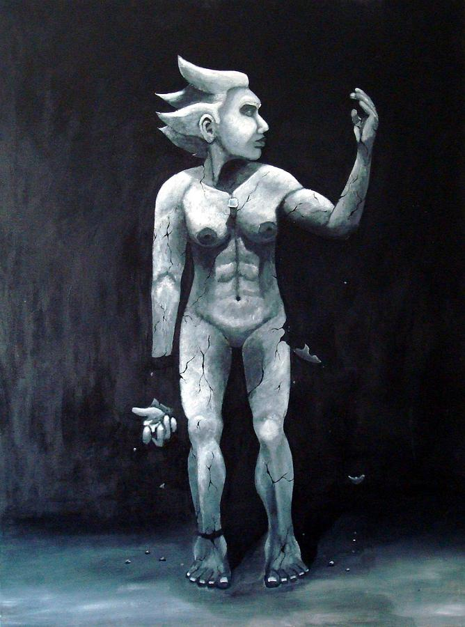 Broken Painting - Broken by Susan  Galindo