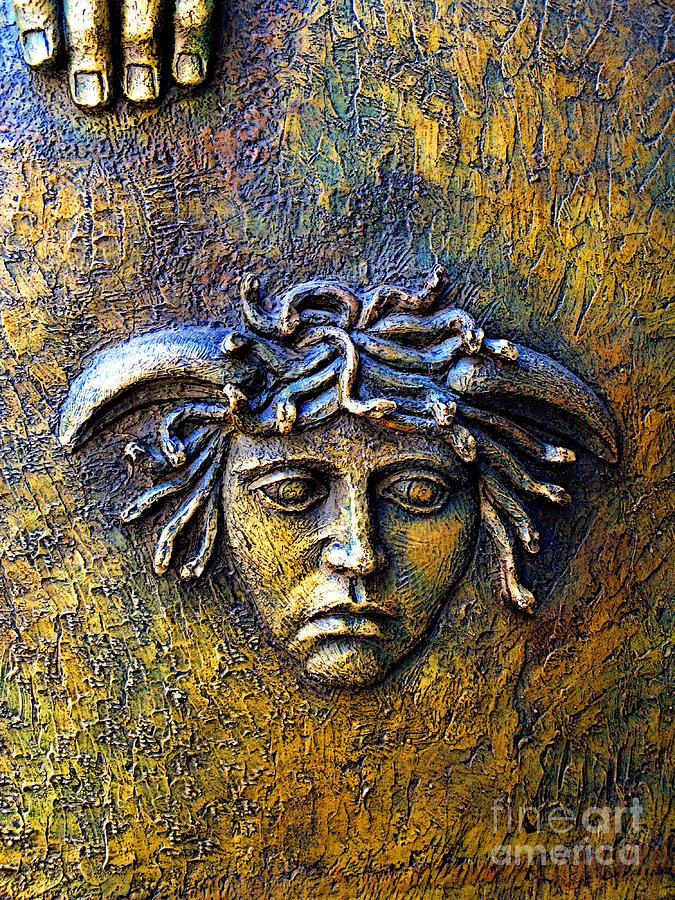 Mexico Photograph - Bronze Medusa by Mexicolors Art Photography