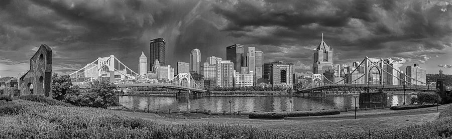 Pittsburgh Photograph - Brooding Above The Burgh by Jennifer Grover