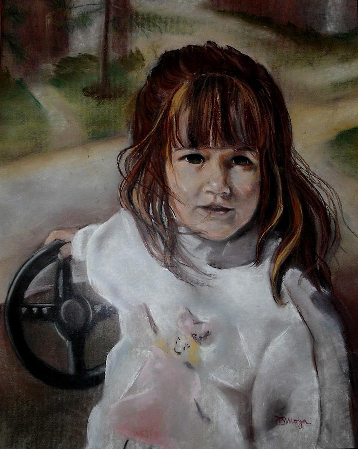 Pastel Painting - Brooke by Diana Moya
