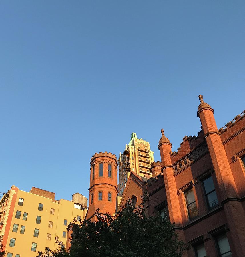 Brooklyn Blue Sky by Liza Beckerman