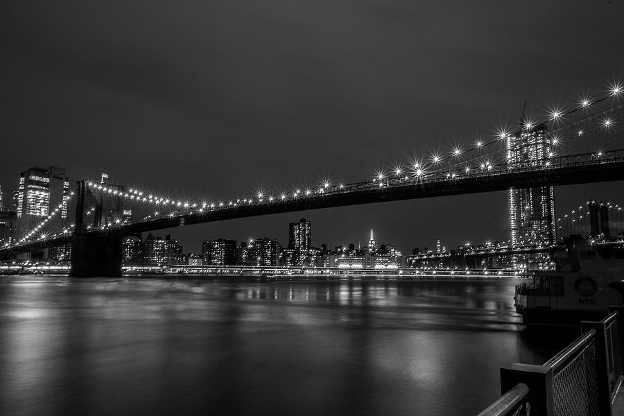 Etsy - Your place to buy and sell all things handmade ...  |Brooklyn Bridge Painting Black And White