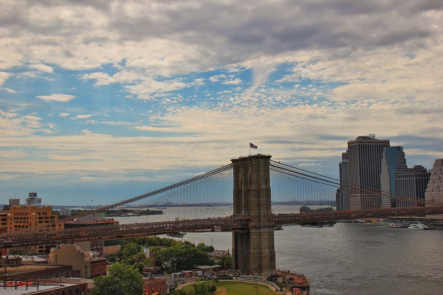 Brooklyn Bridge by Luisa Azzolini