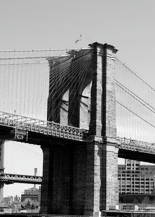 Brooklyn Bridge Photograph - Brooklyn Bridge by Maria Lopez