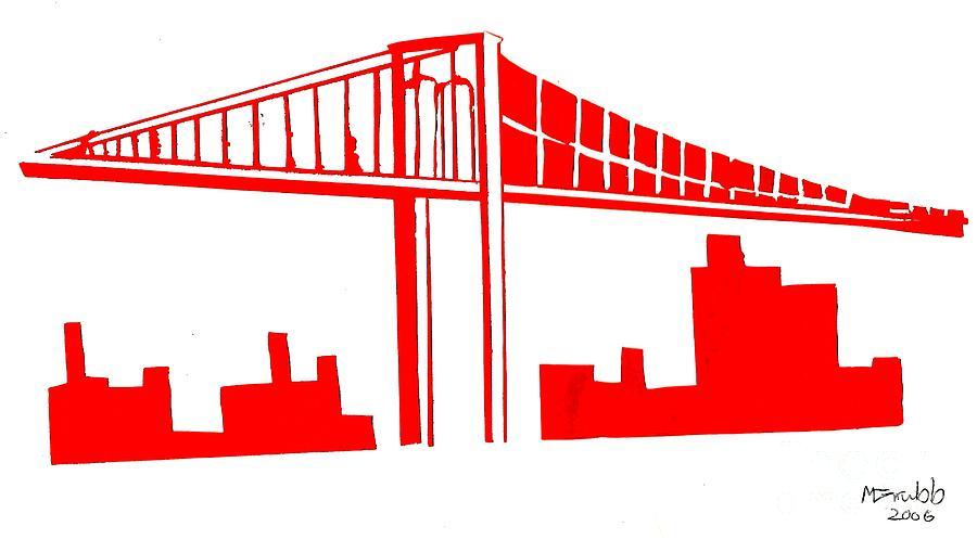 Brooklyn Bridge Painting - Brooklyn Bridge by Michael Grubb