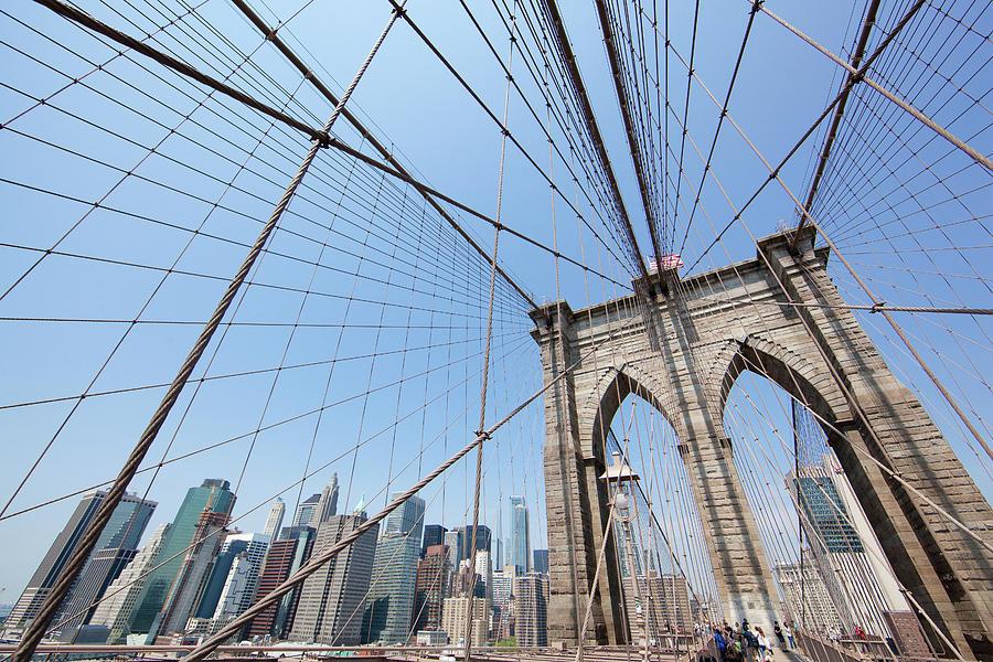 Brooklyn Bridge New York City by John Magyar Photography