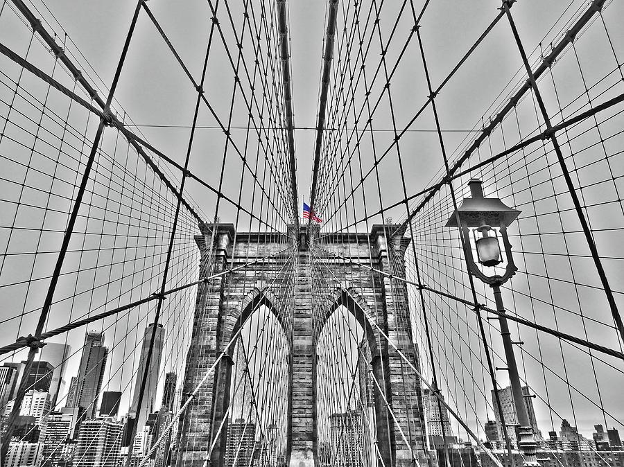 Brooklyn Bridge - NYC by Juergen Weiss