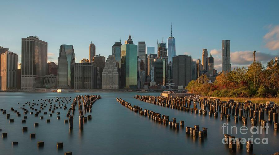 Brooklyn Bridge Digital Art - Brooklyn Bridge Park Nyc  by Roman Gomez