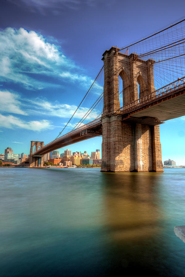 Brooklyn Bridge  by Paul Watkins