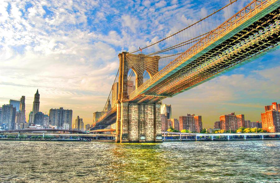 Brooklyn Bridge Photograph - Brooklyn Bridge by Randy Aveille