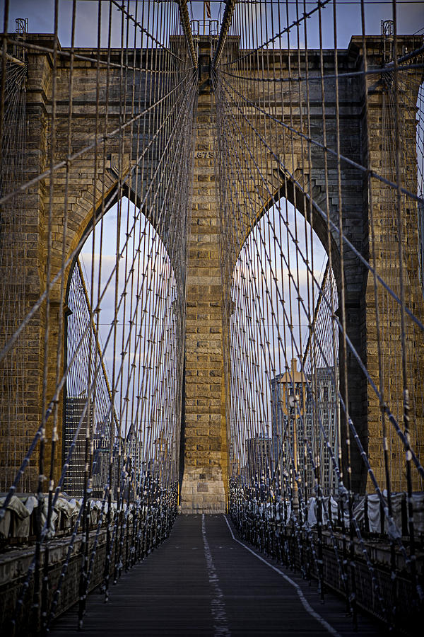 Bridge Photograph - Brooklyn Bridge by Ryan Smith