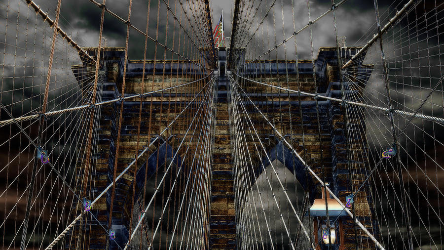 Brooklyn Bridge - Surreal Photograph