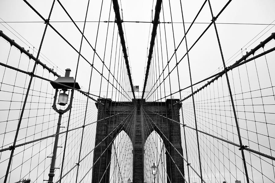 Horizontal Photograph - Brooklyn Bridge by Thank you for choosing my work.