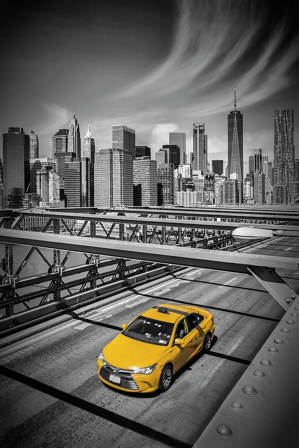 New York City Photograph - Brooklyn Bridge View by Melanie Viola