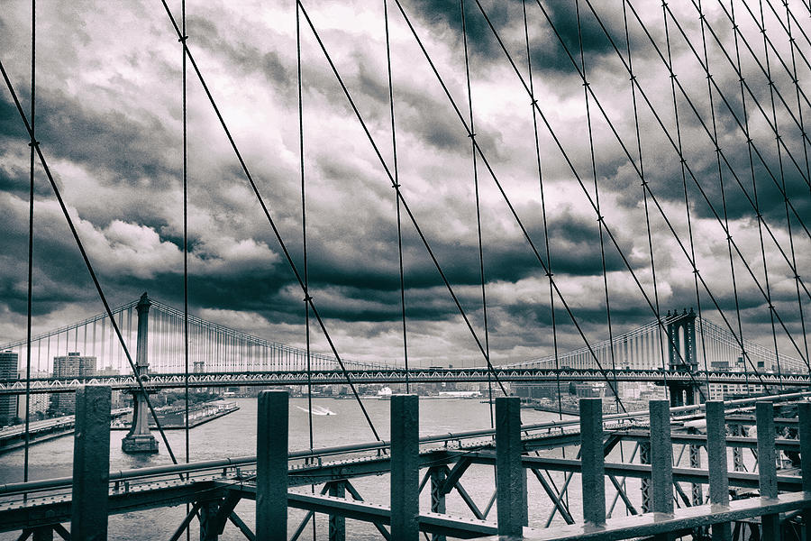 New York Photograph - Brooklyn Bridge Views by Jessica Jenney