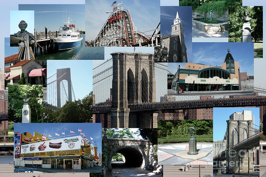 Brooklyn Collage by Jack Ader