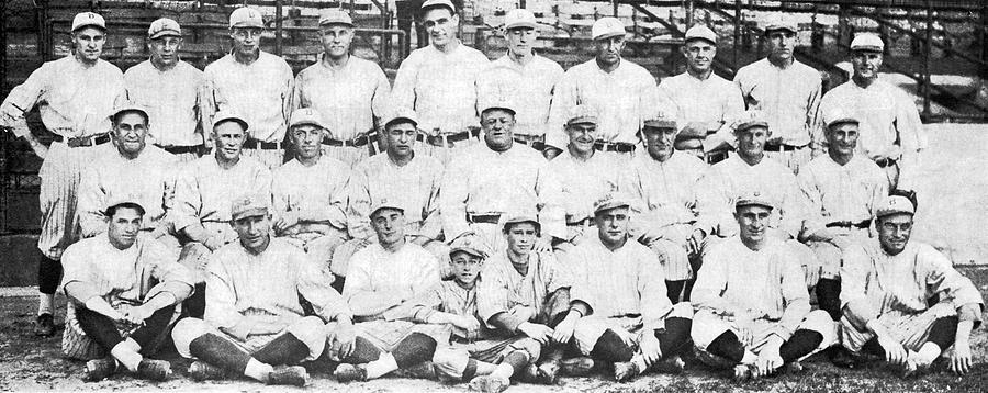 1920 Photograph - Brooklyn Dodger Champions by Underwood & Underwood