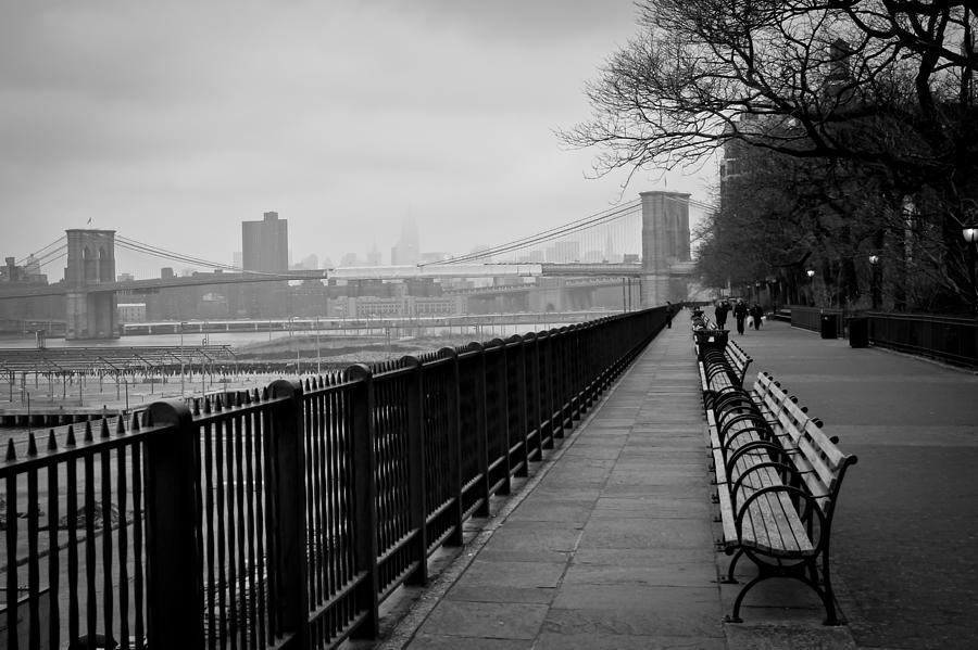 New York Photograph - Brooklyn Heights Promenade by Ezequiel Rodriguez Baudo