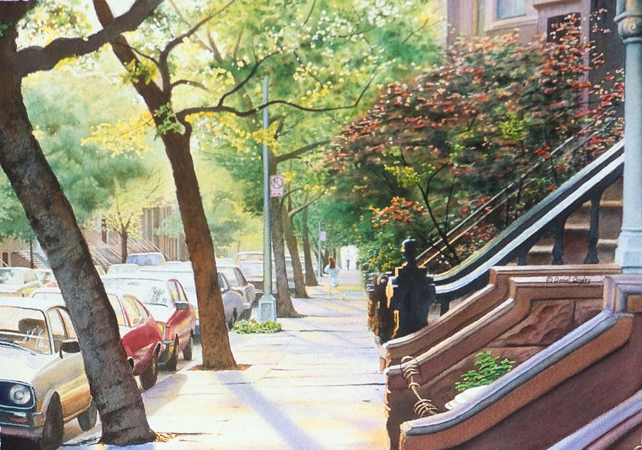 Brooklyn Sidewalk II by Daniel Dayley
