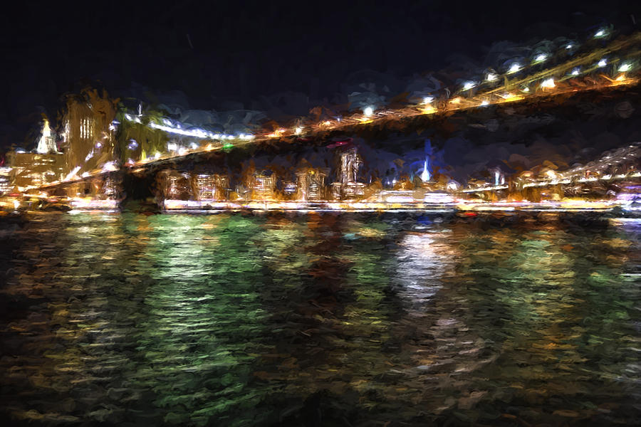 Brooklyn Bridge Digital Art - Brookyln Bridge by Matthew Ashton