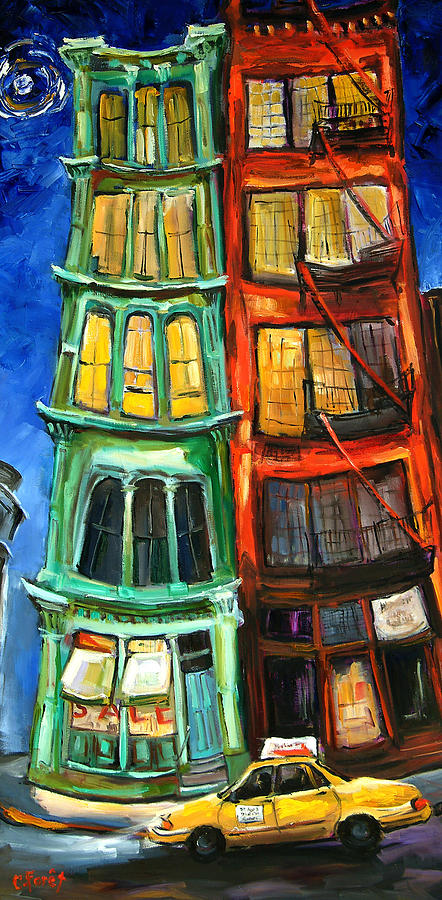 Broome Street Painting - Broome Street by Carole Foret
