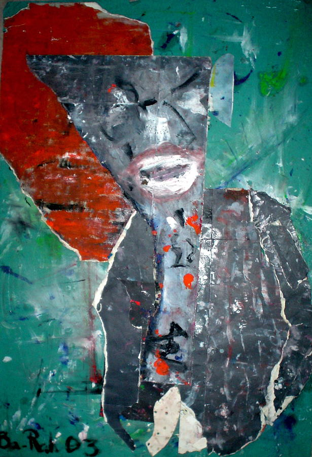 Abstract Mixed Media - Brother  B by Bara Diokhane