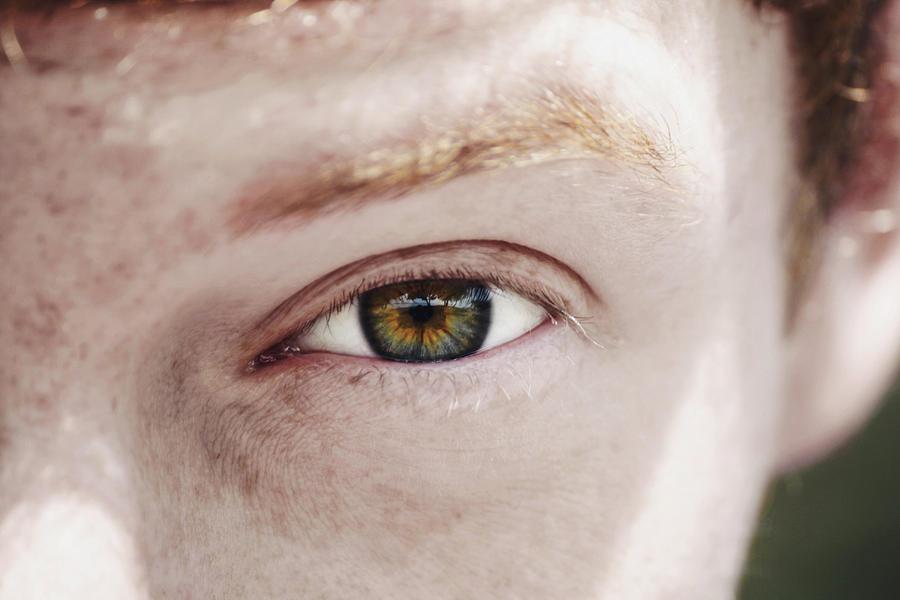 Portrait Photograph - Eye by Kayla Nicole