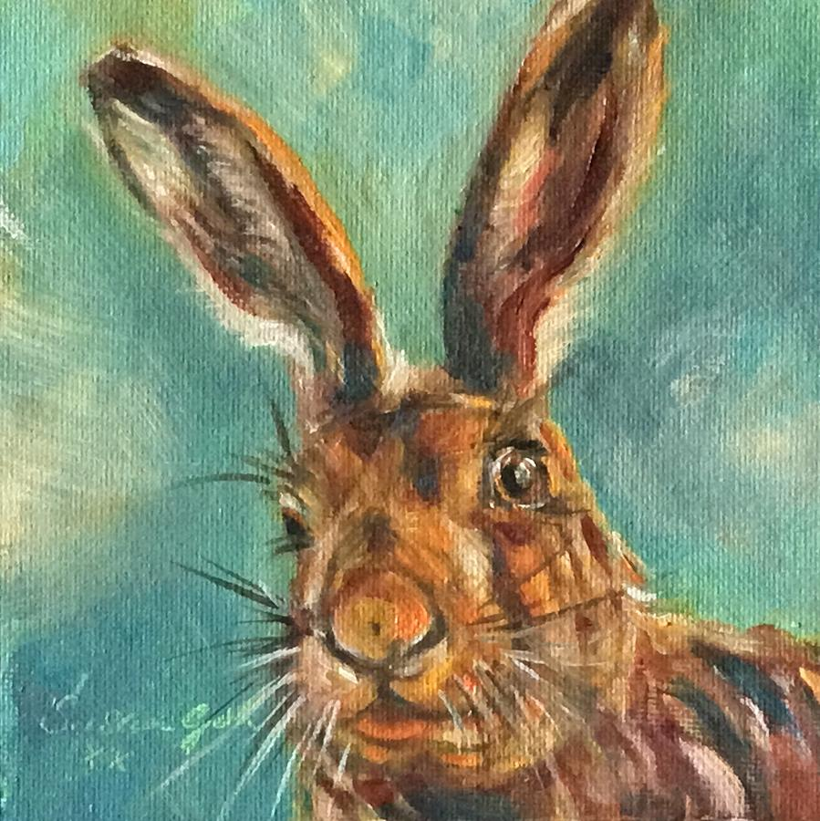 Brown Hare by Susan Goh