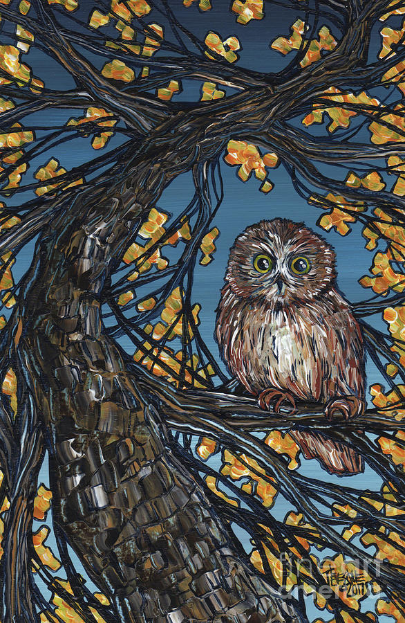 Brown Owl by Tracy Levesque
