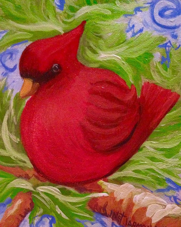 Brrr Bird by Jeanette Jarmon
