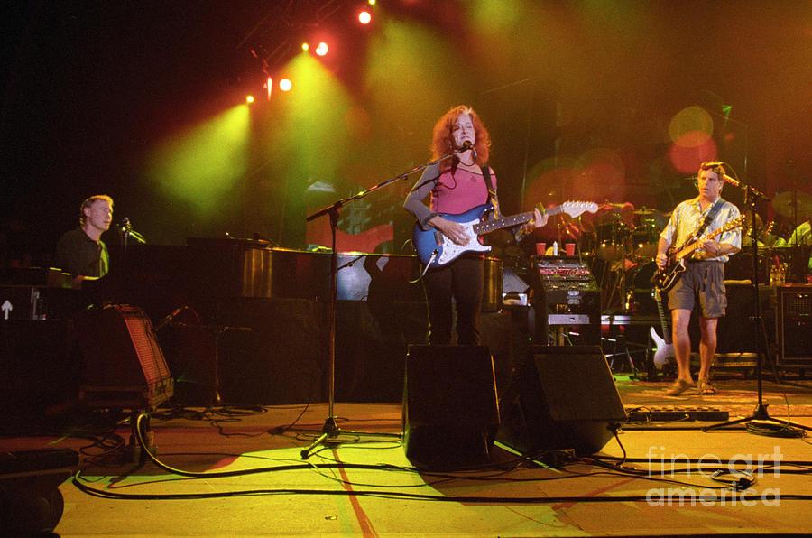 Bruce Hornsby, Bonnie Raitt and Bob Weir by J Bloomrosen