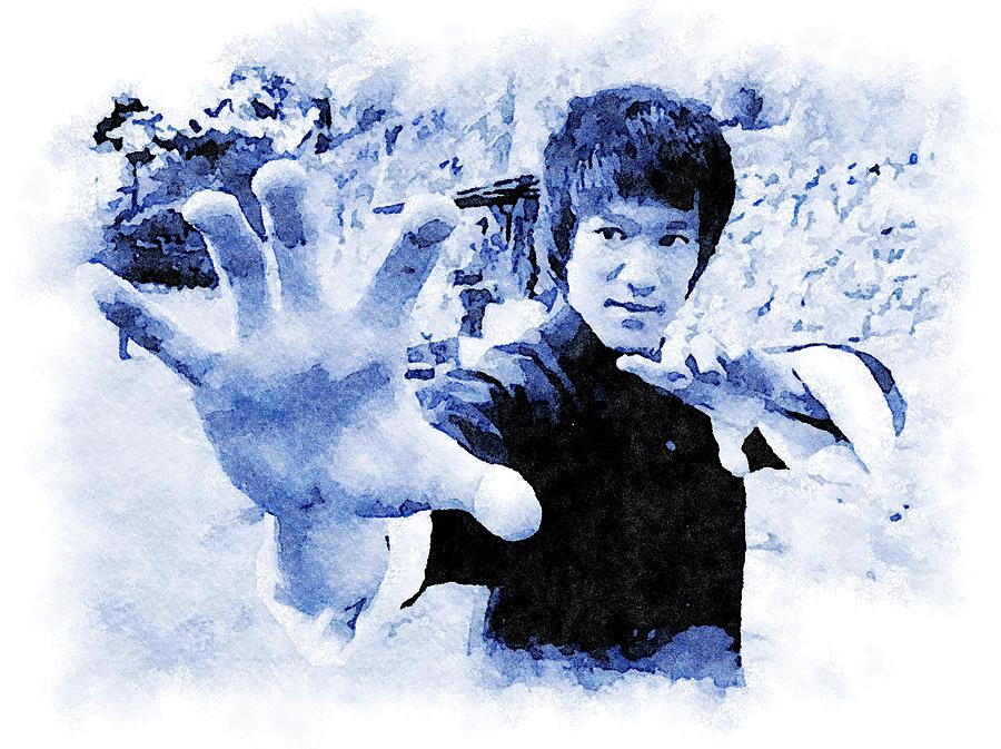 Bruce Lee by Mustapha Dazi