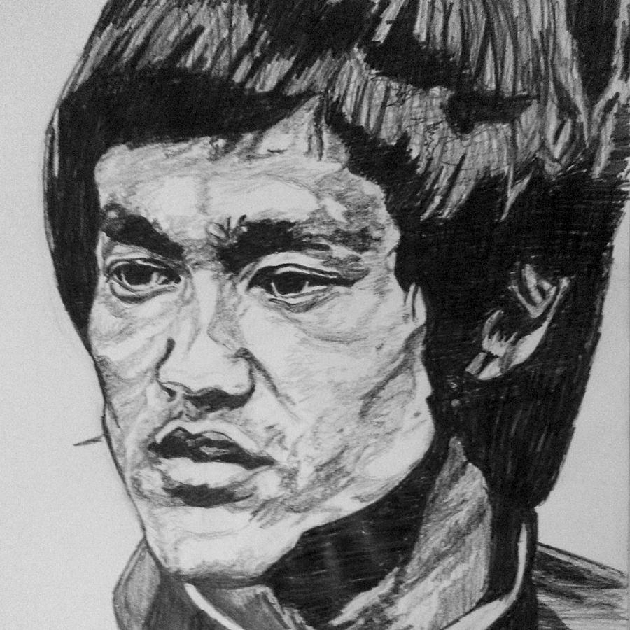 Man Photograph - Bruce Lee by Rachel Natalie Rawlins