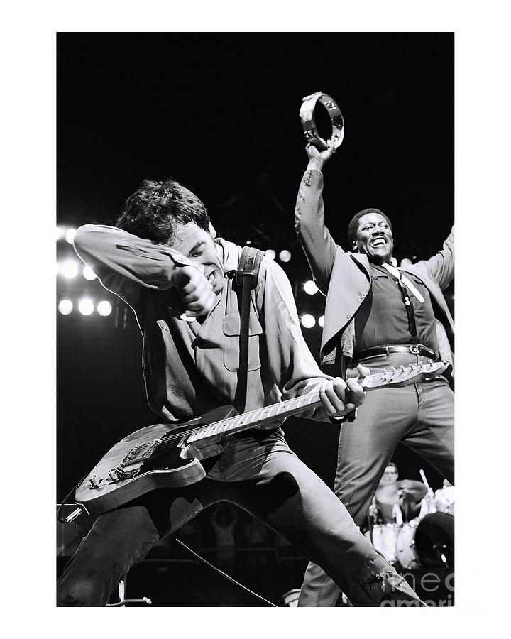 Bruce Springsteen Photograph - Bruce Springsteen Limited Edition by Chris Walter