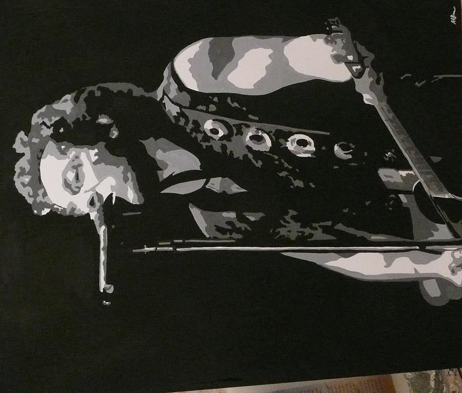 Bruce Springsteen Painting - Bruce Springsteen by Mandy Beatson