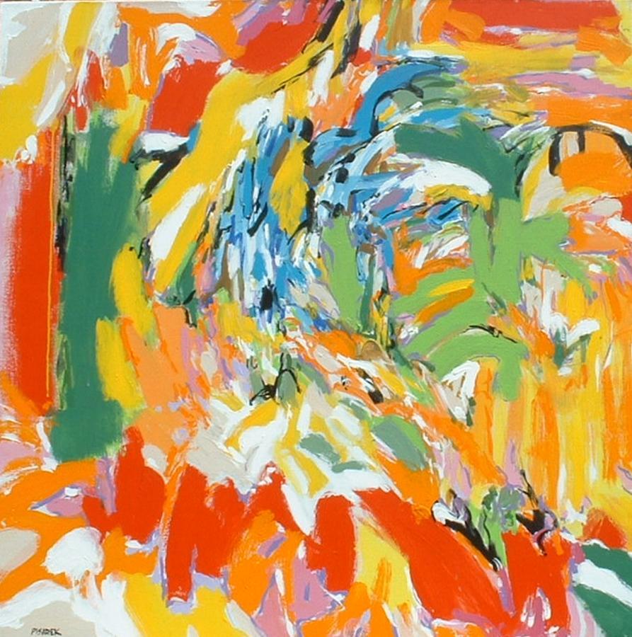 Abstract Painting - Bruckner by Garry Pisarek
