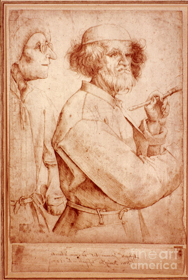 16th Century Photograph - Bruegel: Painter, 1565 by Granger