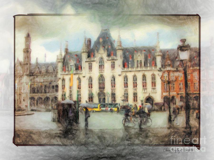 Bruges Painting - Bruges, Belgium by Chris Armytage