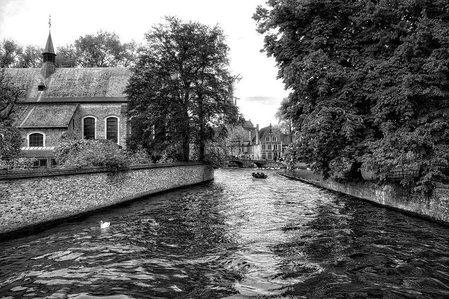 Bruges Bw2 Photograph by Ingrid Dendievel