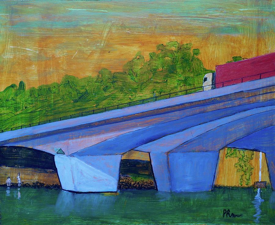 Brunswick River Bridge by Paul McKey