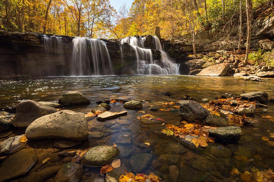Brush Creek Falls  by Rick Dunnuck