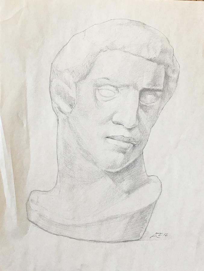 Brutus bust by Alejandro Lopez-Tasso