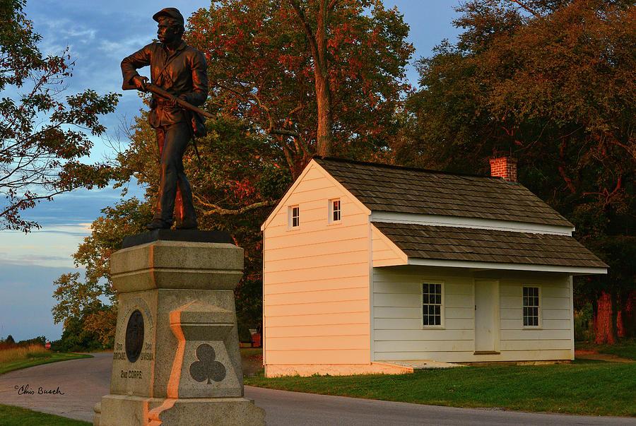 Bryan House Gettysburg by Chris Busch